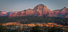 Sedona At Sunrise