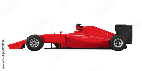 Deurstickers F1 Formula One Race Car Isolated