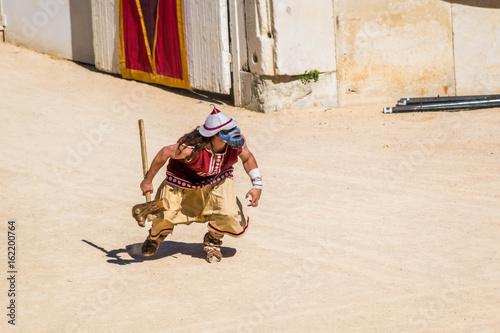 Fotografie, Obraz  Bourreau lors des jeux Romains.