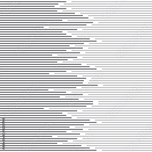 pasek-streszczenie-minimalistyczny-design-i-wzor-linii-wektor-czarno-bialy