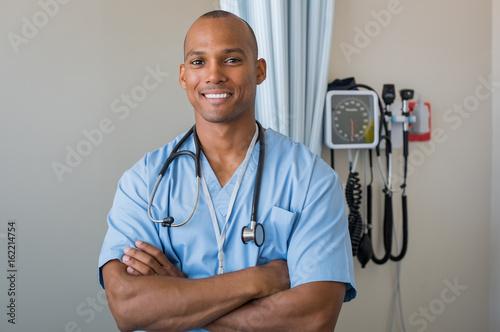 Fotografia  Happy nurse smiling