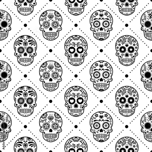 halloweenowy-bezszwowy-wzor-meksykanski