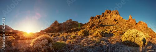 Tenerife, Teide, Boca de Tauce, Sunrise Obraz na płótnie