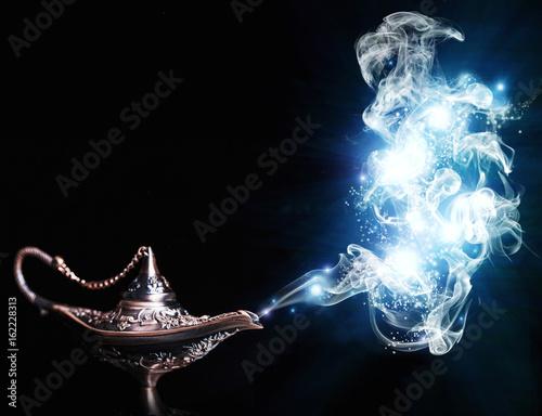 Stampa su Tela  aladdin magic lamp