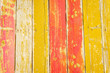 Yellow and red planks background