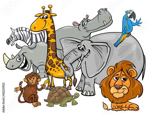 grupa-safari-kreskowka-zwierzat
