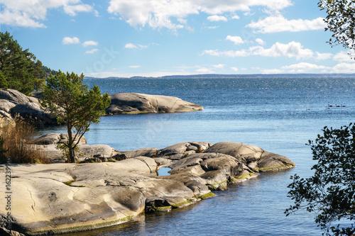 Stockholm archipelago in the Baltic Sea Canvas Print