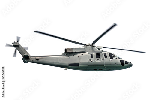Tuinposter Helicopter Military navy helicopter