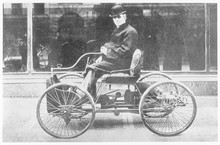 Ford's First Model - 1892. Dat...