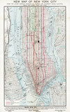 New York Street Plan - 1895. Date: 1895 - 162250387