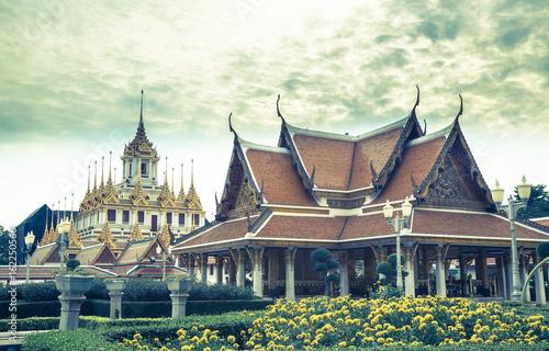 Royal Pavilion Mahajetsadabadin Bangkok Tempel Panorama