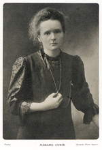 Marie Curie - Photograph. Date...