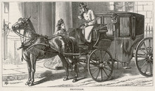 Brougham Lady - 1872. Date: 1872