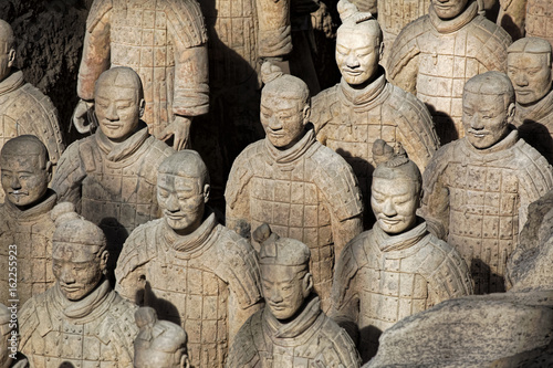 Tuinposter Xian World famous Terracotta Army located in Xian China