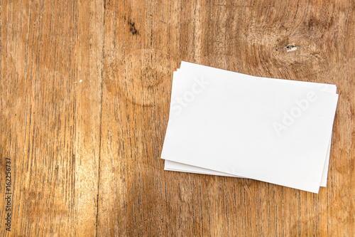 Blank business card for professionalwhite paper card mock up with blank business card for professionalwhite paper card mock up with copy space for text reheart Gallery