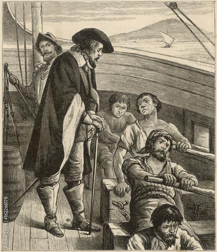 Galley Slaves Fototapeta
