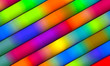 canvas print picture - Image of colour light and stripes moving fast.