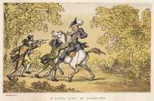 Dr Syntax Stopped By Highwaymen . Date: 1813