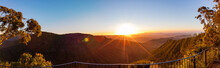 Sunset View From The Gold Coast Hinterland