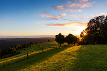 Sunrise View From The Gold Coast Hinterland