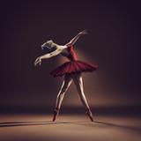 Młoda i piękna balerina - 162281730