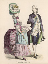 French Extravagance. Date: 1780