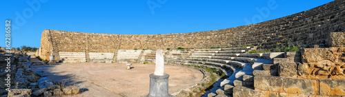 Poster Rudnes Salamis theatre ruins , Cyprus