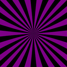 Abstract Starburst Background From Radial Stripes