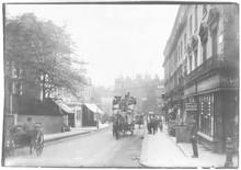 Street Scene In Kensington  London. Date: 1906