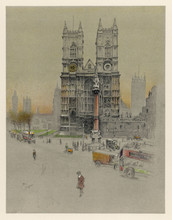 Westminster Abbey - 1924. Date: 1924