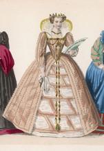 Frenchwoman 1576. Date: Circa ...