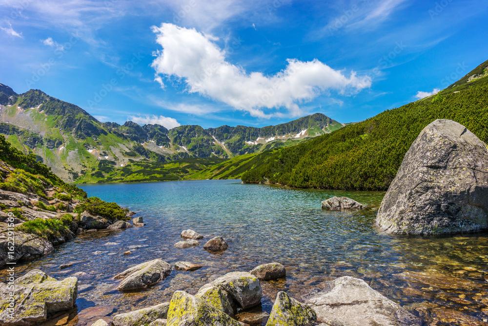 Fototapety, obrazy: Tatry, Dolina Pięciu Stawów, Pejzaż górski
