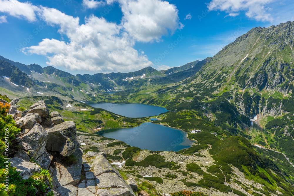 Fototapety, obrazy: Tatry, Dolina Pięciu Stawów Polskich, Pejzaż górski