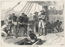 Scene On Board A Slave Ship. D...