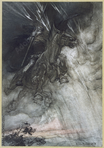Photo  Odin - Wotan Rides - Rackham