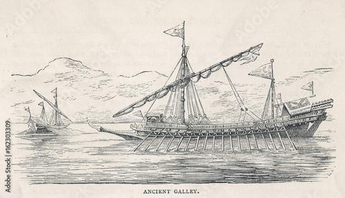 Roman Galley Slika na platnu