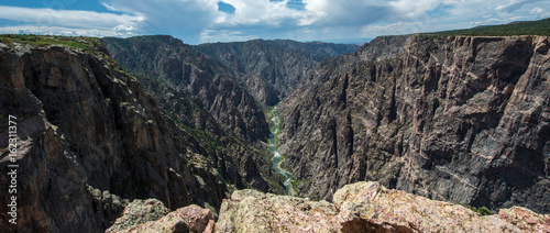 Deurstickers Canyon Black Canyon of the Gunnison, Colorado