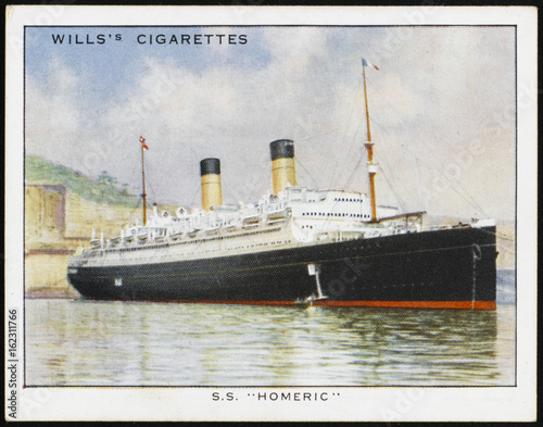 Photo  Homeric Liner. Date: 1924