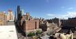 Panorama from Manhattan skyline