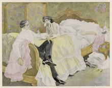 Breakfast In Bed. Date: 1908