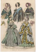 Fashions For Nov 1840. Date: 1...