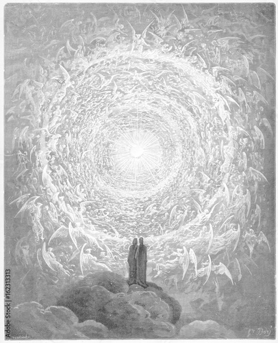Fotografia Vision of Angels - Dante. Date: 1307-21