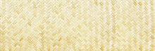 Horizontal Woven Bamboo Textur...