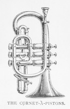 Cornet On Its Own. Date: 1897