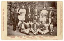 Aussie Cricketers 1893. Date: 1893