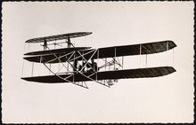 Lefebvre In Wright Plane. Date...