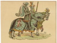 16th Century Knights On Horseb...