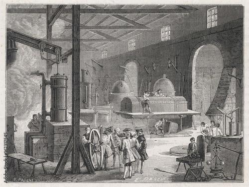 Obraz na płótnie Boulton - Watt's Engine