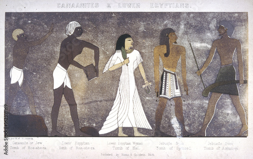 Ancient Egyptian Costume. Date: ANCIENT EGYPT Wallpaper Mural