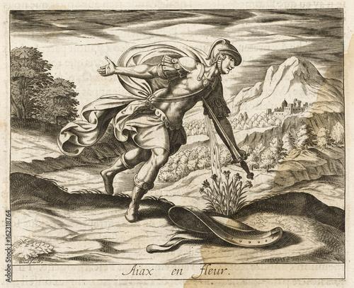 Ajax Kills Himself Canvas Print